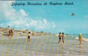 Florida Daytona Beach Scene With Helicopter Ride 1977