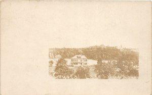 G31/ Wakefield Massachusetts RPPC Postcard c1910 Crystal Lake Boat House