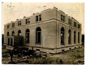 MT - Kalispell. Flathead County Library, 1916