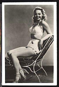 USA Movie Stars 1950's Adele Mara