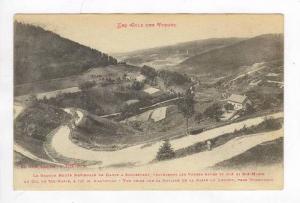 Aerial of Grande Route Nationale nr Saint Die,France 1900-10s