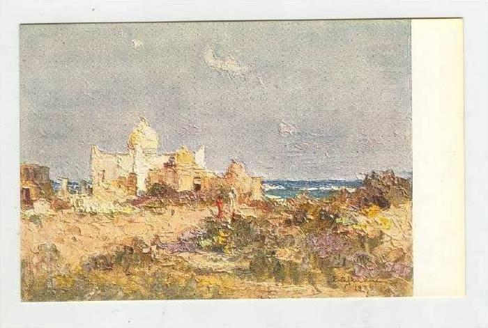 Nella Somalia Italiana, 1910-20s , Moschea sul lungomare a Mogadiscio
