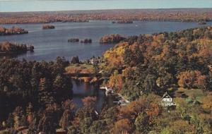 ONTARIO, Canada, 1940-1960's; Chaffey's Locks, Rideau Lakes