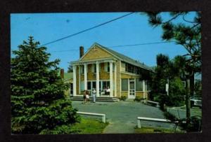 MA Historic CRAIGVILLE Inn CAPE COD MASS Postcard PC
