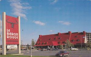Restaurant, Le Baron Rouge, Ste. Anne de Beauport, Quebec, Canada, PU-1988