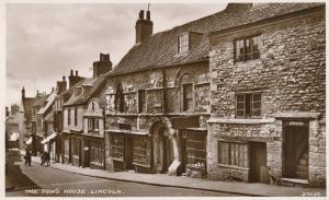 RPPC The Jew's House - Lincoln, Lincolnshire, England, United Kingdom