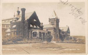 Huntingdon PA~Industrial Reformatory~Juvenile Delinquents~Prison~1906 RPPC