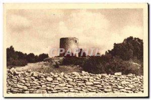 Postcard Old Mill A Daudet Fontvieille