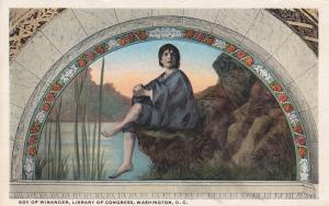 AS: WASHINGTON D.C.; Boy of Winander by H.O. Walker, Library of Congress, 00-10s