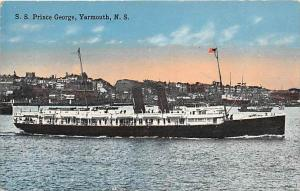 5521 S.S. Prince George,  Harbor Yarmouth Harbor  , N.S.