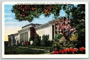 Kansas City MO~Beautiful Flowers @ William Rockhill Nelson Gallery of Art~1952