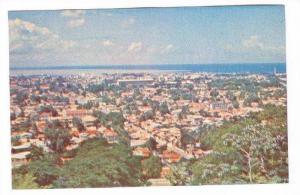 Trinidad , Panorama, Port of Spain, 40-60s