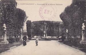 Monument De La Defense Nationale, Saint-Maixent (Sarthe), France, PU-1918