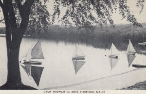 HARRISON , Maine , 1930s-40s ; Camp Wigham for Boys