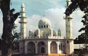 Vintage Postcard, Muslim Islamic Mosque near Arima, Trinidad, West Indies 30Q