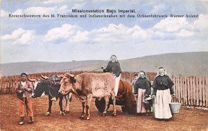 Missionsstation Bajo Imperial Republic of Chile 1924