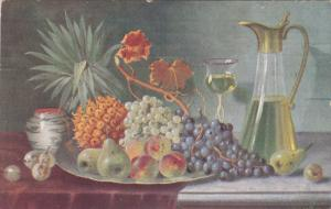 Still Life , Grapes & Pears , PU-1913