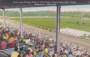 Maryland Hagerstown Horse Racing Hagerstown Race Track View From Dining Deck ...