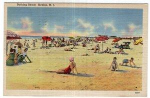 Avalon, N.J., Bathing Beach