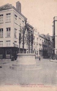 ANVERS, Belgium, PU-1912; Le Puits De Quentin Metsys