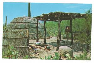 Tucson AZ Papago Beehive House Indian Sonora Desert Museum
