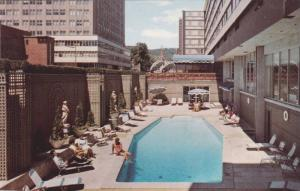 Martinique Hotel Motor Inn,swimming pool, Montreal, Canada,40-60s