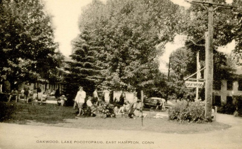 CT - East Hampton. Oakwood, Lake Pocotopaug