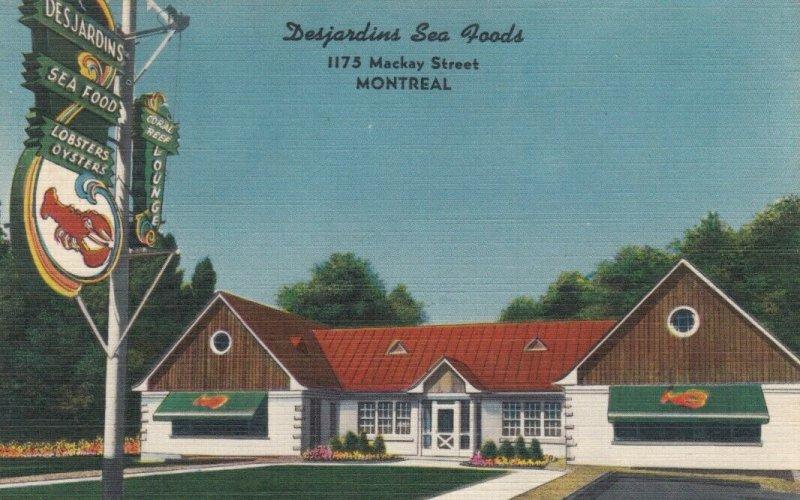 MONTREAL , Quebec , Canada , 30-40 - Desjardins Sea Foods
