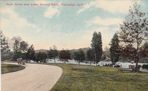 Main Drive and Lake, Seneca Park, Rochester, New York, 00-10s
