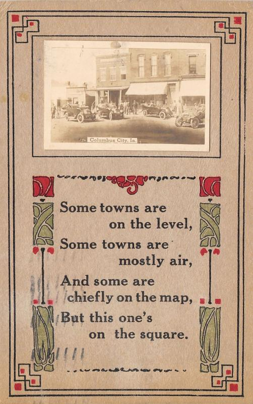 Columbus City: Some On the Level, Mostly Air, On The Map~This One on Square 1911