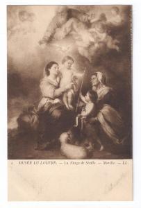Musee Du Louvre La Vierge de Seville Murillo UDB Sepia