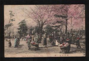 061080 JAPAN Cherry Blossom Yokohama park Vintage PC