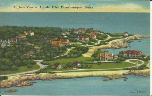 Kennebunkport, Maine, Airplane View of Arundel Point
