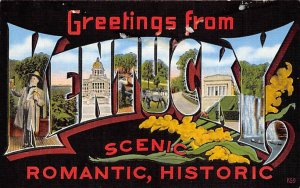 Greetings from Scenic, Romantic, Historic KY Greetings from KY