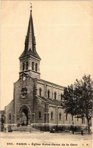CPA Paris 13e Paris-Eglise Notre-Dame de la Gare (311430)
