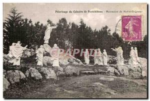 Old Postcard From Calvary Pilgrimage of Our Lord Pontchateau Ascinsion