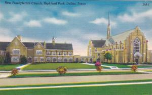 New Presbyterian Church, Highland Park, Dallas, Texas, 30-40s