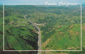 California Orinda California And The Freeway From The Air