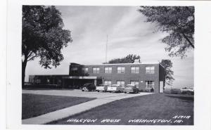 RP: WASHINGTON , Iowa, 1930-40s ; Halcyon House