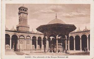 Cairo , Egypt , 00-10s Colonnade of the Mosque Mohamed ali