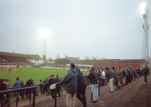 Non-League Football Ground Postcard, Worcester City FC, St Georges Lane
