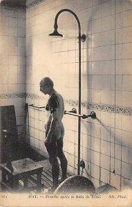 Medical Post Card Shower, Douche apres le Bain de Boue Dax Unused