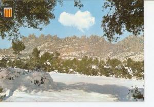 Postal 027809 : Catalunya tipica: Hivern a Montserrat
