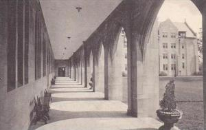 Illinois Chicago Cloister Walk Rosary College River Forest Albertype