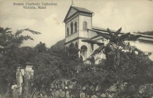 seychelles, MAHE VICTORIA, Roman Catholic Cathedral (1910s)