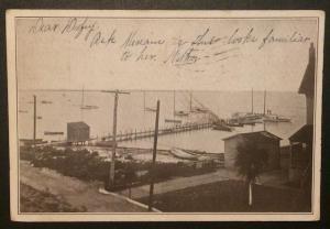 Bay Scene, Private Mailing Card 1905