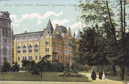 Young Mens Christian Association, Gothenburg, Sweden, 1900-1910s