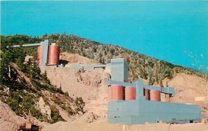 Red River New Mexico~Molybdenum Mine~Old Gold Mines~1950's Postcard