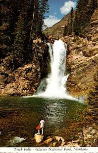 Montana Glacier National Park Trick Falls