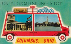 COLUMBUS , Ohio , 1950-60s ; car